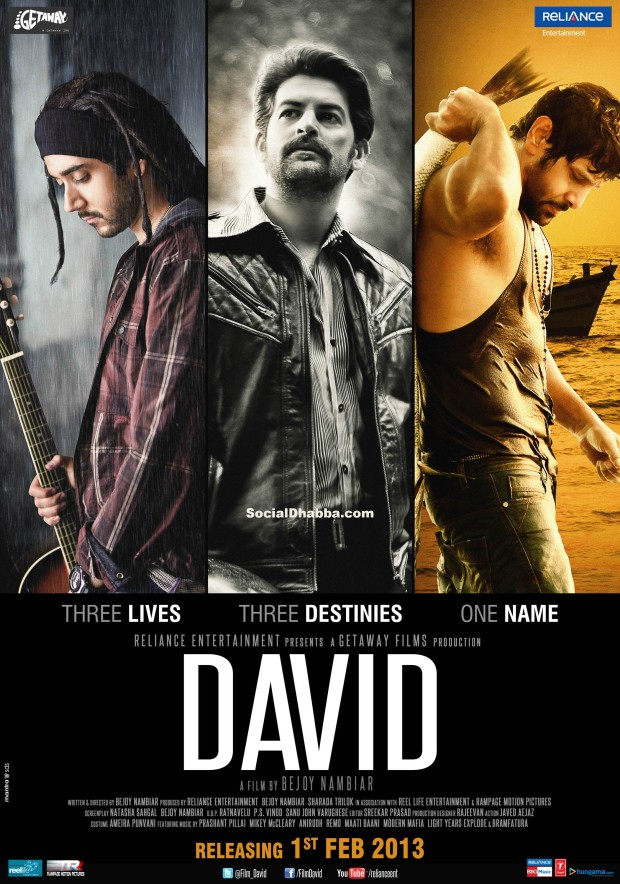 Poster of the film, David